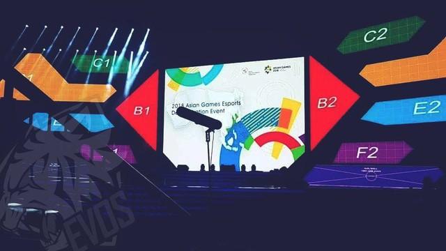 Nhà thi đấu chính thức của bộ môn LMHT tại Asian Games 2018