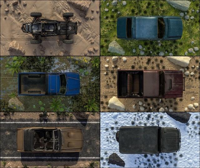 Những mẫu xe mới sẽ được xuất hiện tại PUBG phiên bản mùa đông của Blue Hole