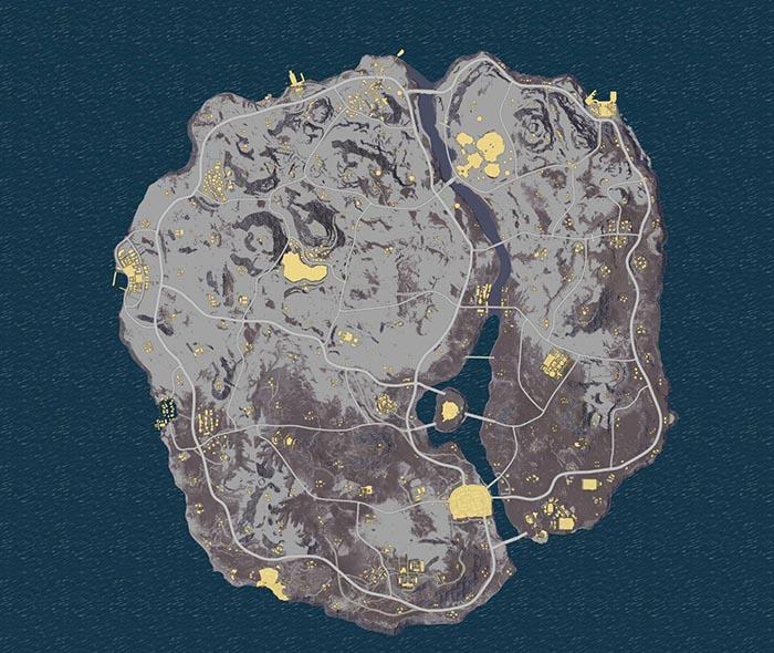Bản đồ mang tên Dihor Otok sẽ được PUBG cập nhật tại phiên bản mùa đông