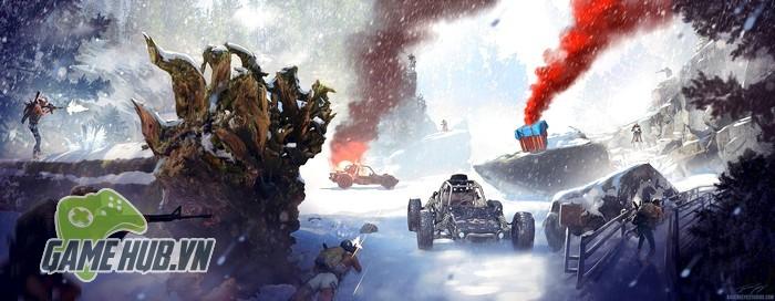 PUBG rò rỉ map tuyết 2