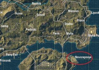 Loot đổ tại Novorepnoye
